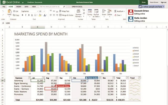 Excel Screenshots