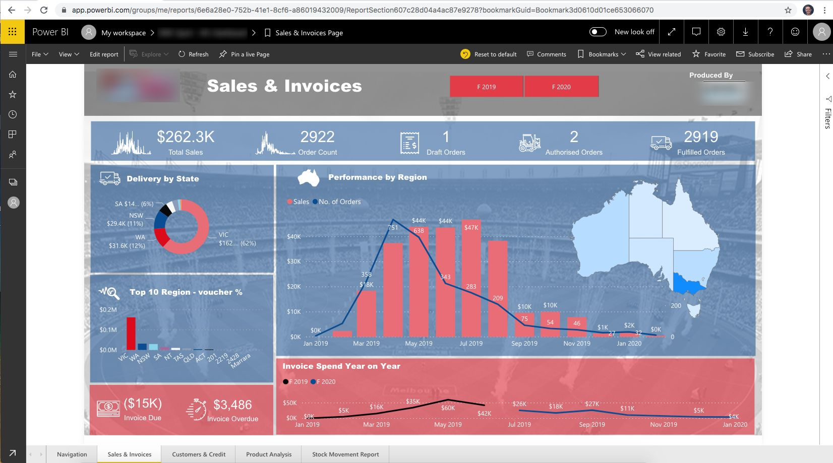 DEAR Inventory Power BI Dashboard